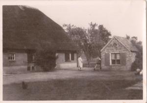 Erf met bakhuis, jaartal onbekend
