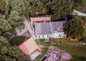 luchtfoto Hilbelink; midden jaren 70 van de 20e eeuw